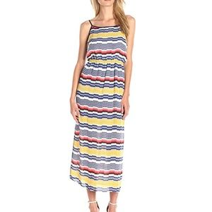 Marrakech Jagged Stripe Maxi Dress